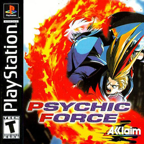 Psychic Force - PS1 - ISOs Download