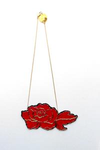 Nini Peony : collier Red