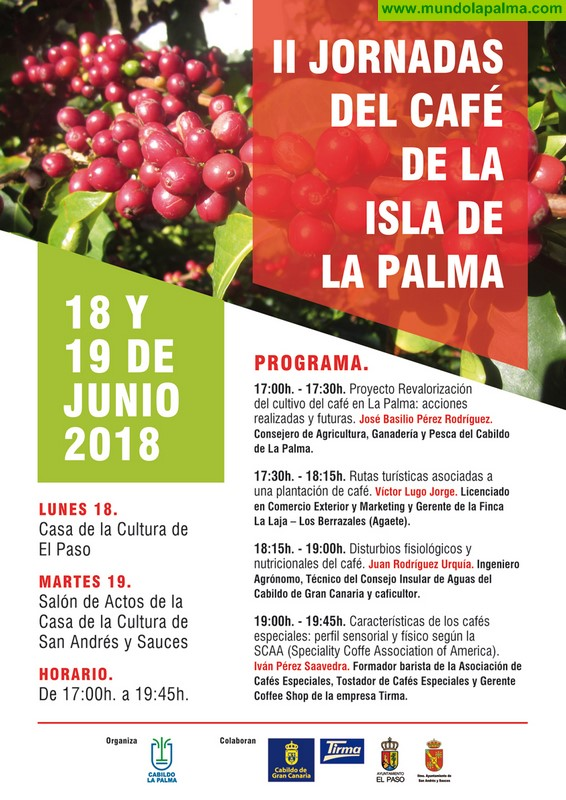El Cabildo divulga su proyecto para la revalorización del cultivo del café en la isla