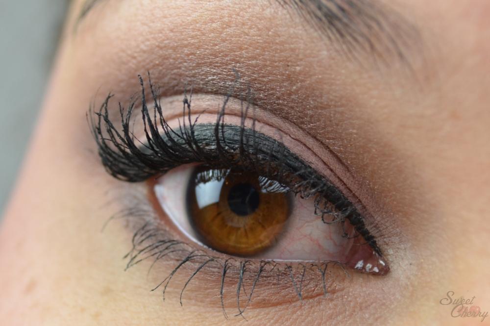 Augen Make-up Urban Decay Naked Palette mit Swatches