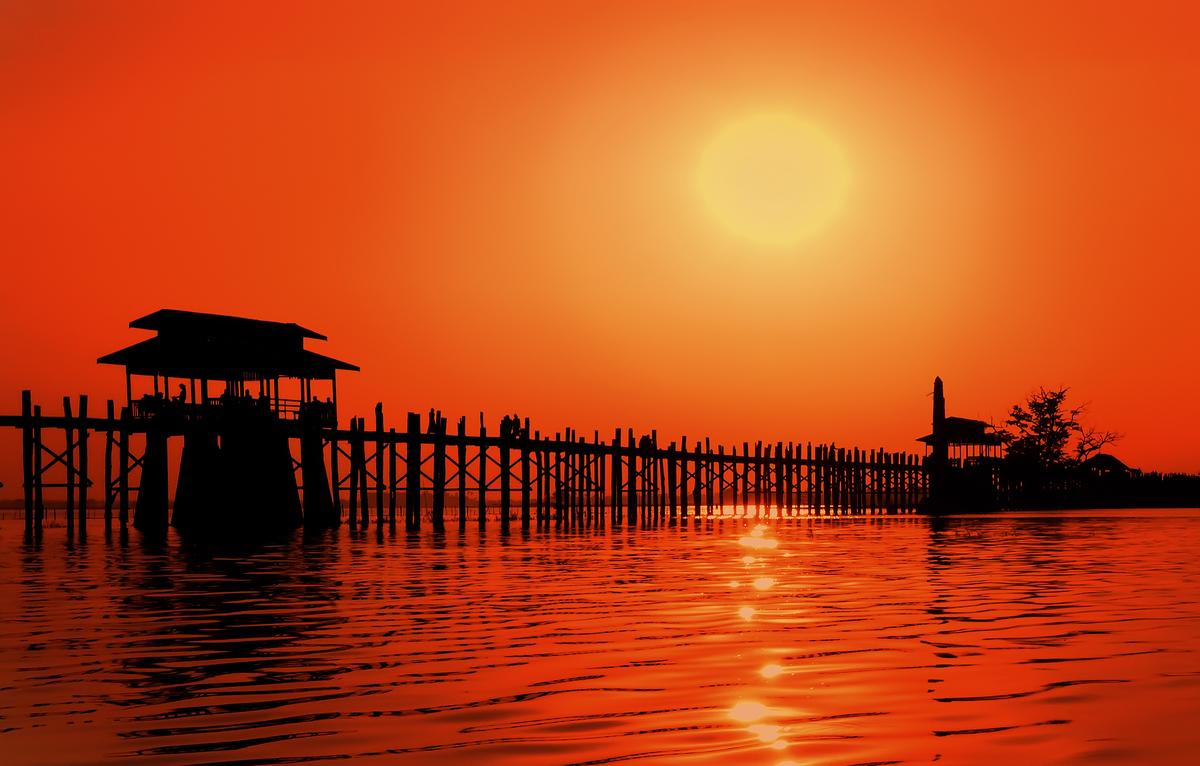 Un mundo en paz los amaneceres y atardeceres m s bonitos - Los cuadros mas bonitos ...