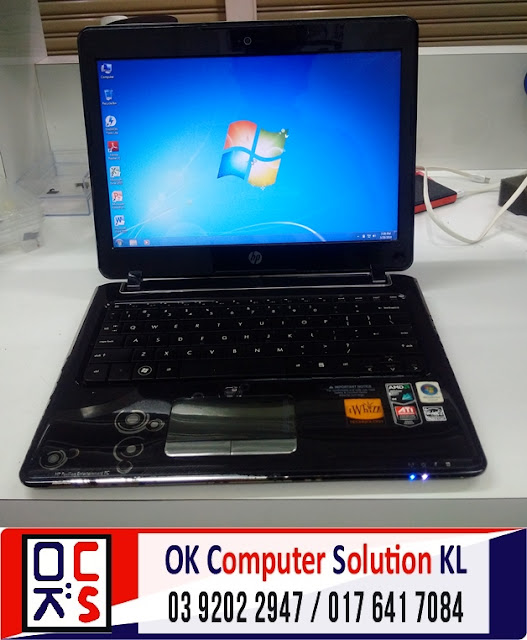 [SOLVED] SERVIS LAPTOP HP PAVILION DV2 | REPAIR LAPTOP CHERAS 9