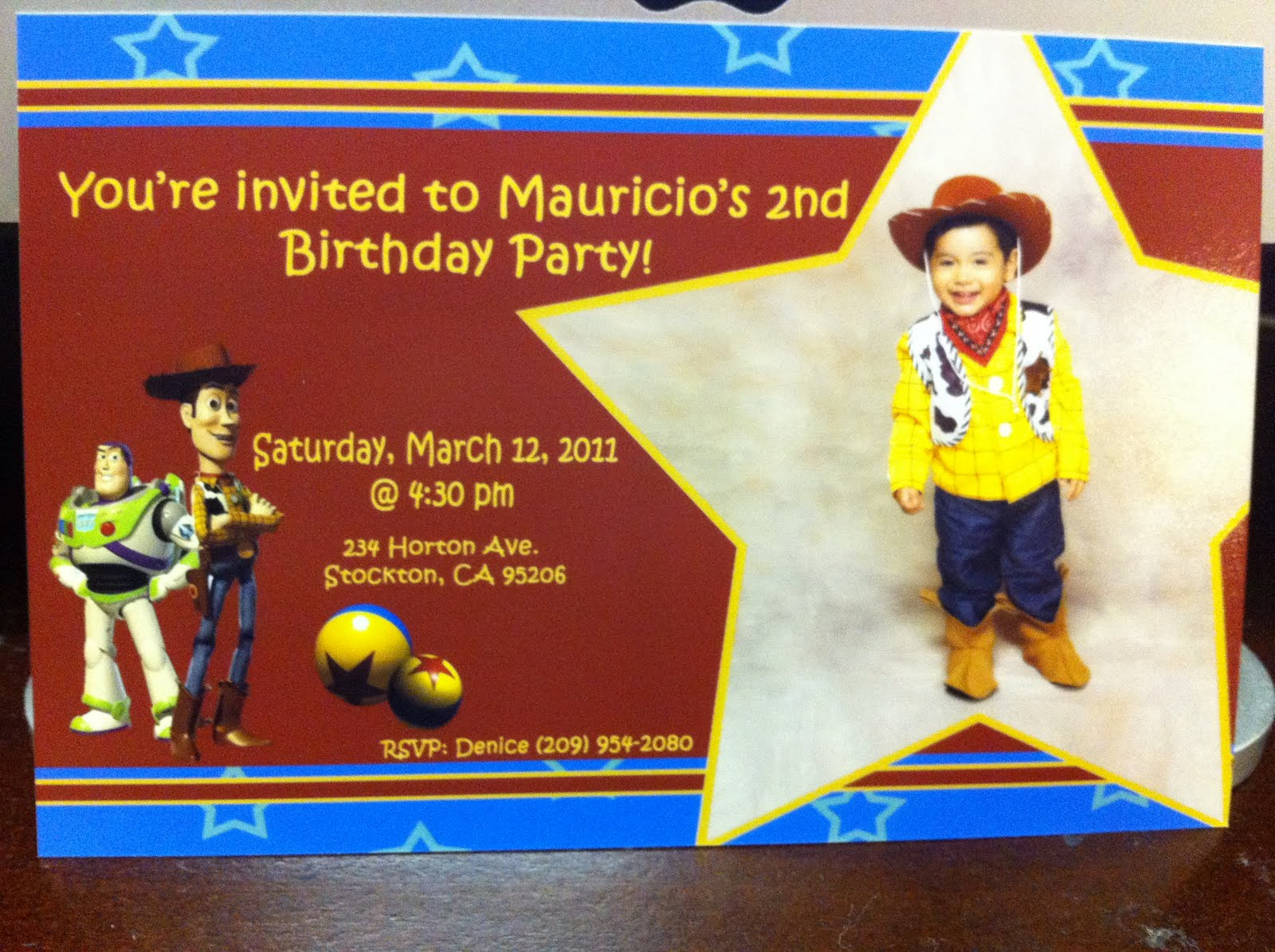 Parties By Denice Mauricios 2nd Birthday Party Toy Story