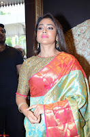 Shriya Saran Looks Stunning in Silk Saree at VRK Silk Showroom Launch Secundrabad ~  Exclusive 122.JPG