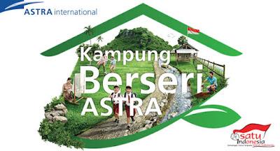 Kampung Berseri Astra di Sungai Jawi Pontianak Barat