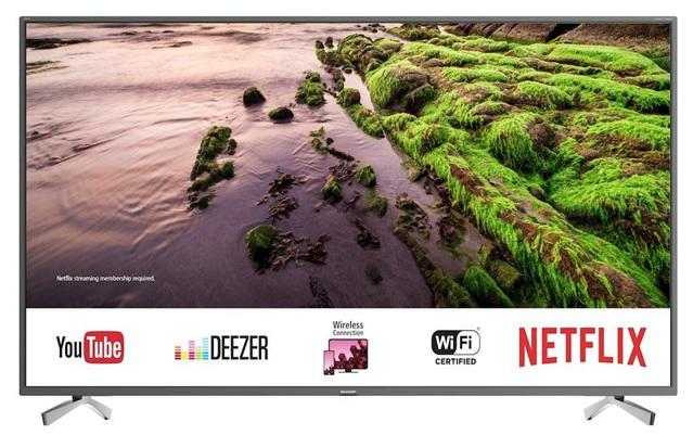 Sharp LC-49UI8652E: panel 4K de 49 pulgadas con soporte HDR+