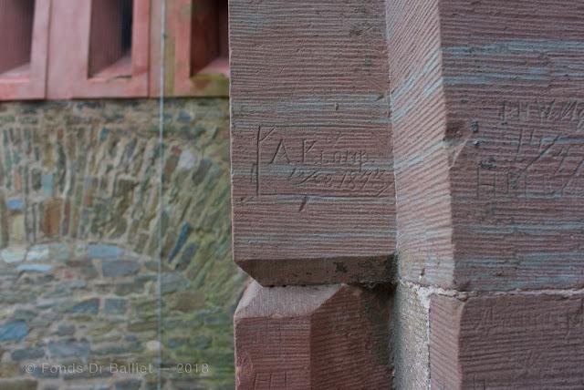 Forteresse de Koblenz (Festung Ehrenbreitstein) — Graffitis