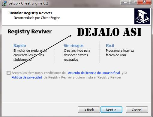 Cheat Engine 6.2 PC Español