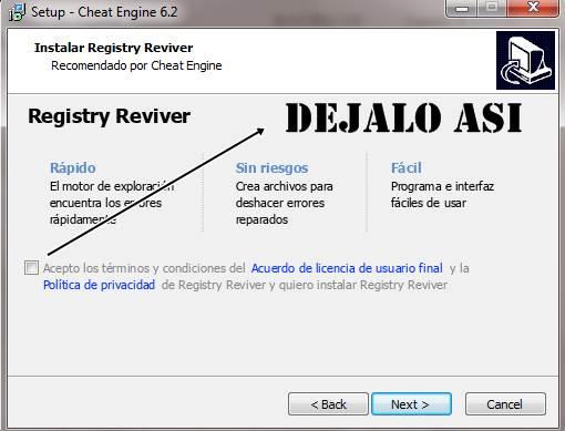 Cheat Engine 6.2 PC Español
