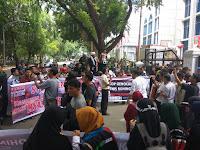 PAHAM dan Aliansi Masyarakat Sumut Adakan Aksi Solidaritas Untuk Rohingya