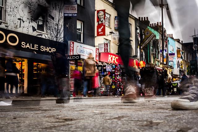 Fotografiando bajo la lluvia - Motion Blur