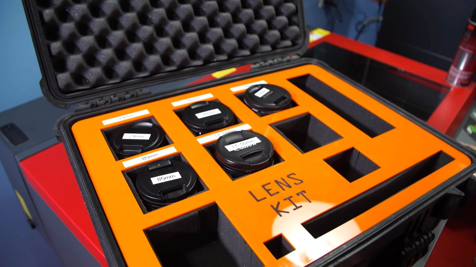 Customizing a Pelican Case with Our Laser Cutter! - Blog
