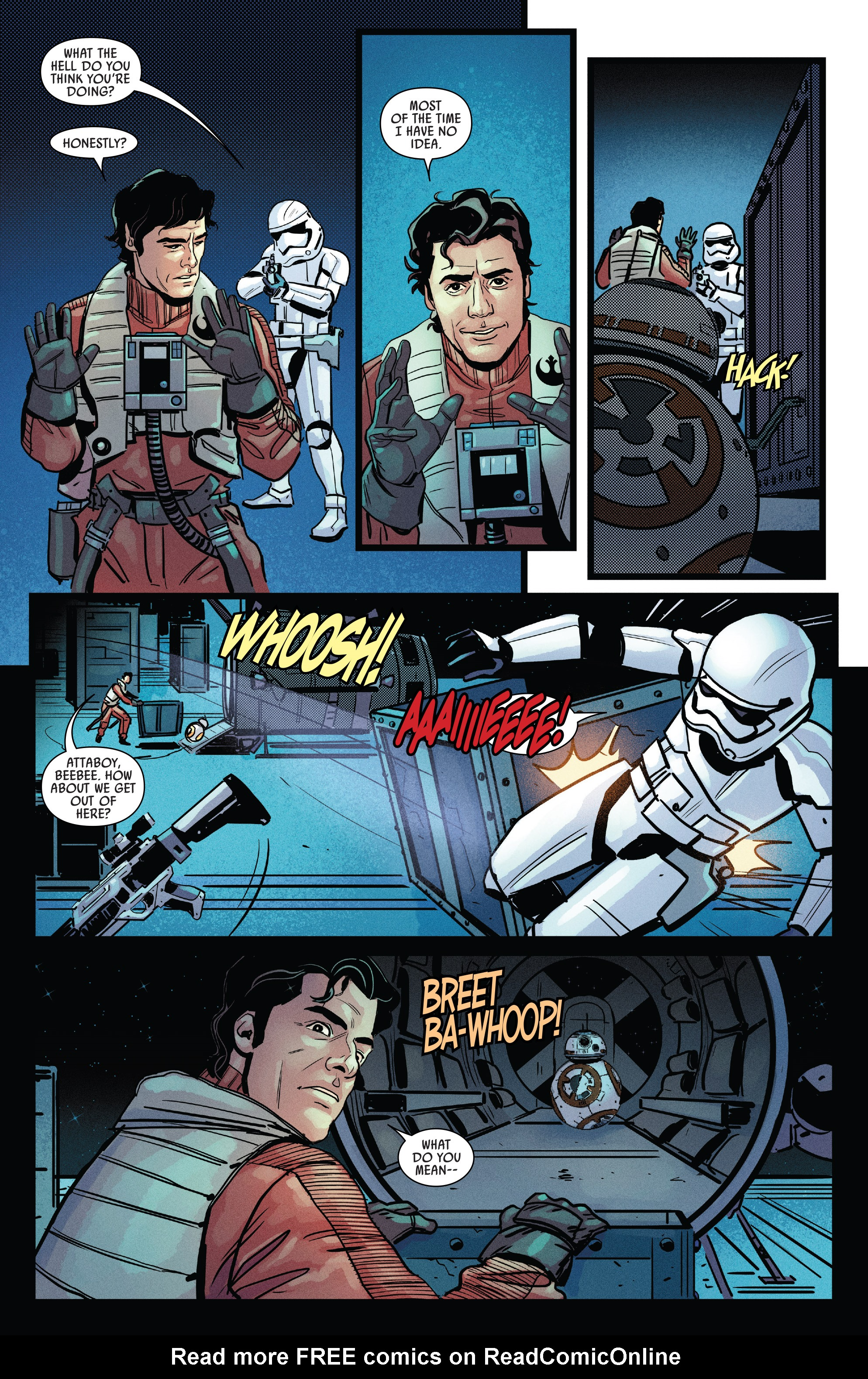 Read online Star Wars: Poe Dameron comic -  Issue # _Annual 1 - 24