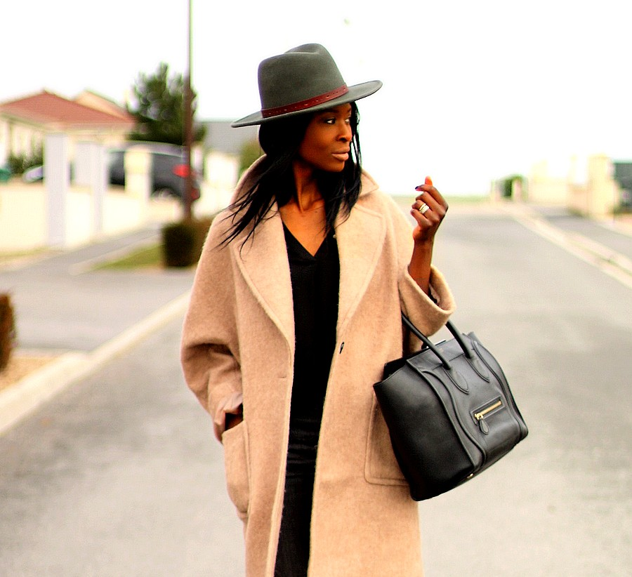 fedora-hat-camel-coat-celine-mini-luggage
