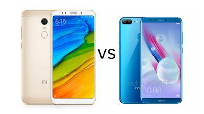 Xiaomi Redmi Note 5 vs Honor 9 Lite