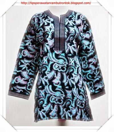 Model Baju Batik Modern Edisi Wanita Kantor Dan Kerja