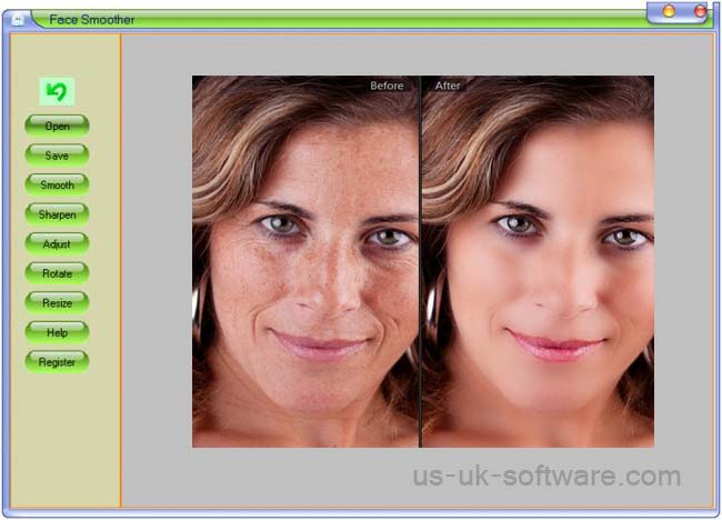 Free Face Smoother Download - Photoshop Alternative