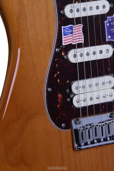 Guitar Fender American Deluxe Stratocaster HSS
