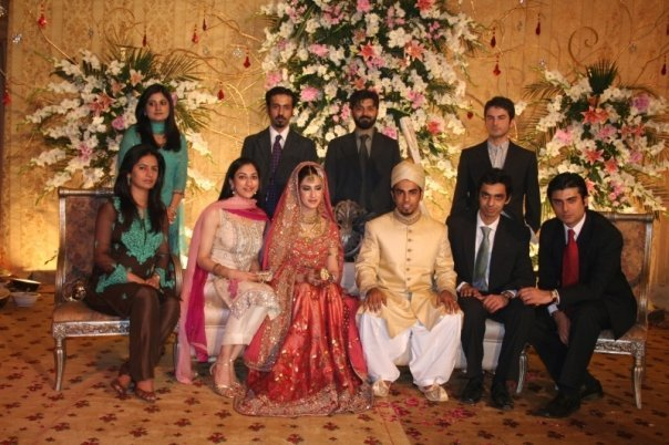 Fawad Khan With His Wife Celebritiescouples