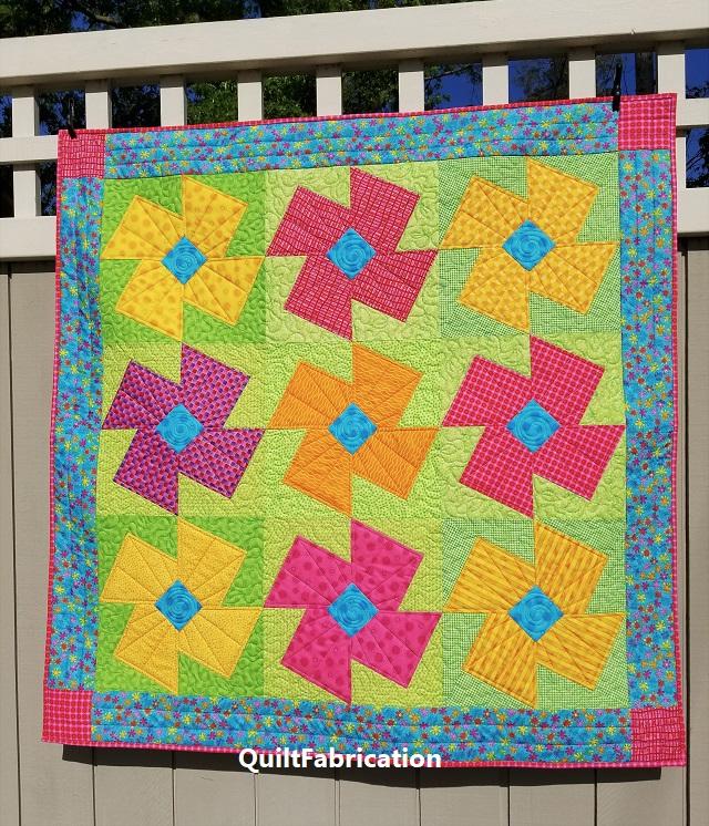 x block-quilt-posie-flower-scrap