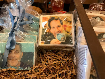 Paul Rudd on a Rice Treat