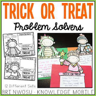 Trick or Treat Problem Solvers Craft - Knowledge Mobile