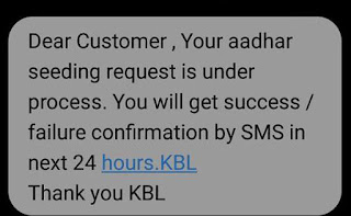 Link Aadhaar with Karnataka Bank Account Process