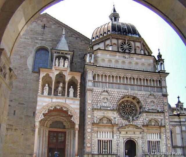 capilla coleoni en bergamo
