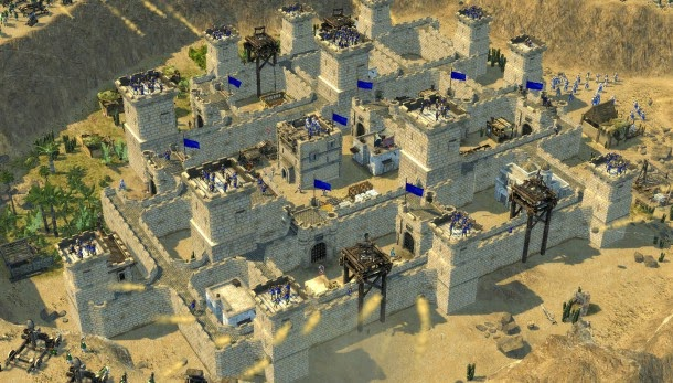لعبة stronghold crusader 2