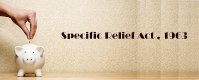 Lawji, Specific Relief Act, Specific relief