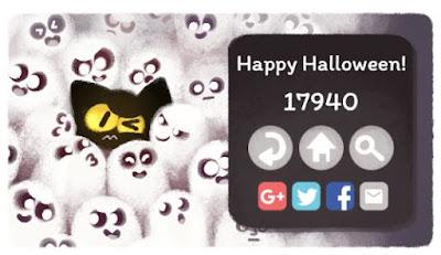Google Halloween Doodle 2016 - Mini Game