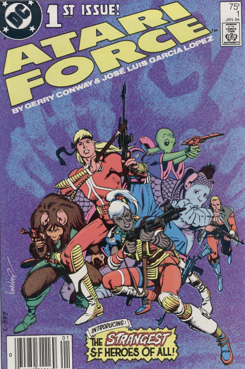 Atari Force (1984) issue 1 - Page 1