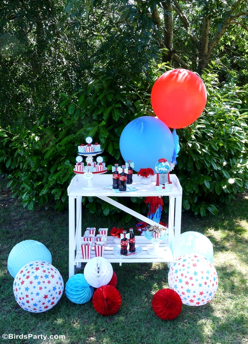 4th Of July Garden Picnic Party Ideas Party Ideas Party