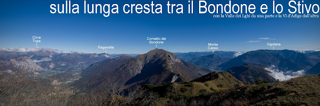 cresta Bondone Stivo