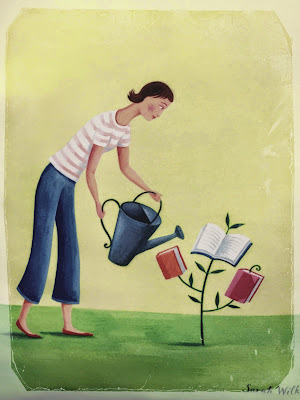 planting the seeds to grow a reader