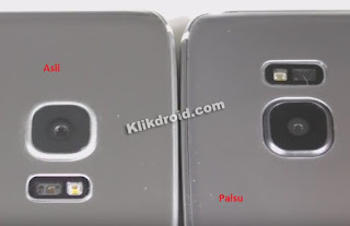 Lampu Flash Kamera Samsung S7 Asli Dan Palsu