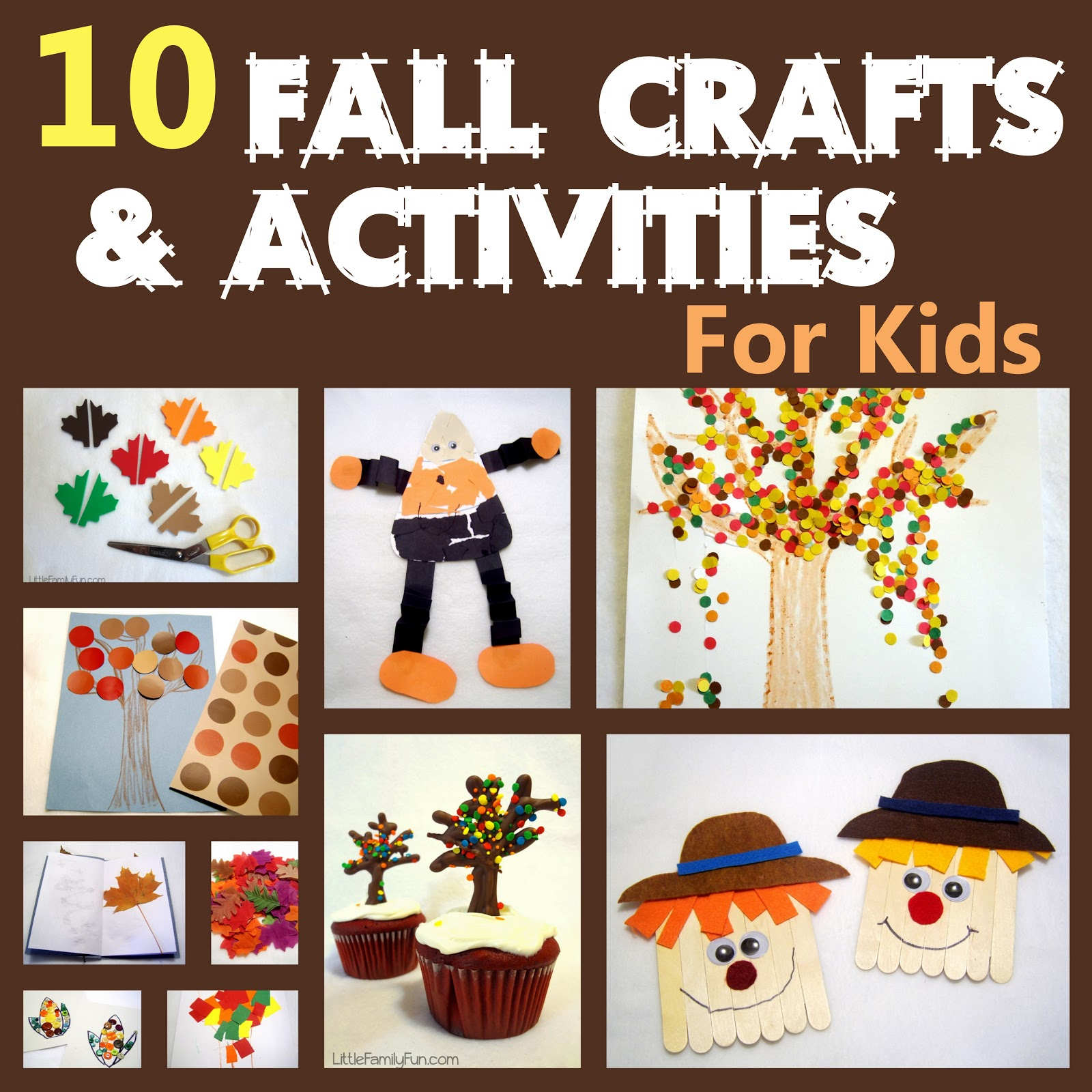 Little Family Fun Fall Preschool Activities