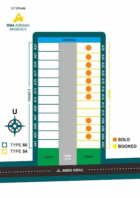 Siteplan BMA Ahsana Regency