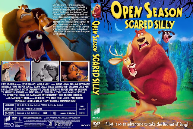 Open Season: Scared Silly DVD Cover