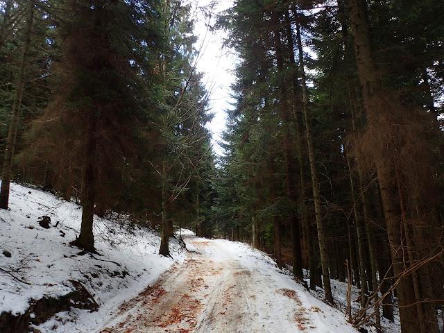 Końcówka zimy w Beskidach