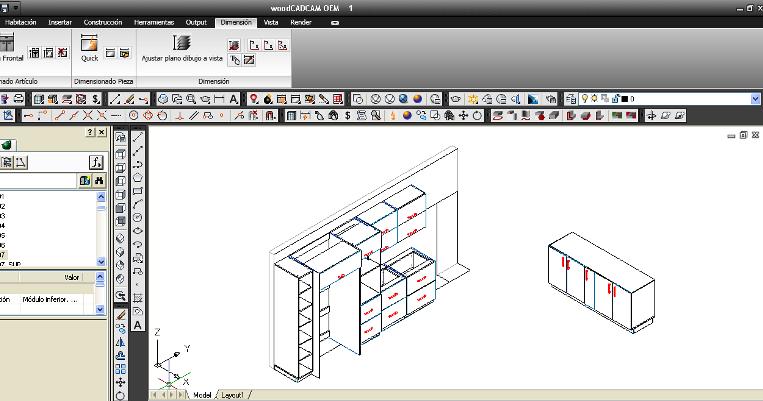 Dise o de muebles madera programa de dise o de muebles for Diseno de muebles software