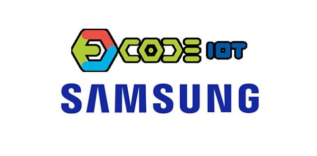 Curso grátis de Objetos inteligentes conectados da Samsung/Code IoT.