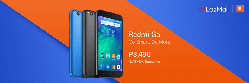 Redmi Go for just PHP 3,490
