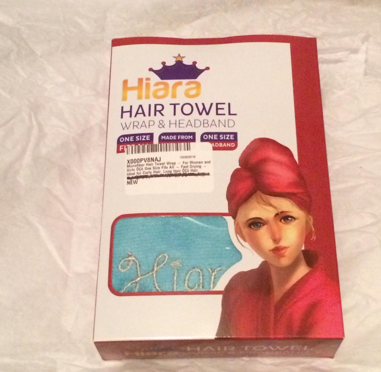 Microfiber Hair Towel Reviews: Always Blabbing: Microfiber Hair Drying Towel Review