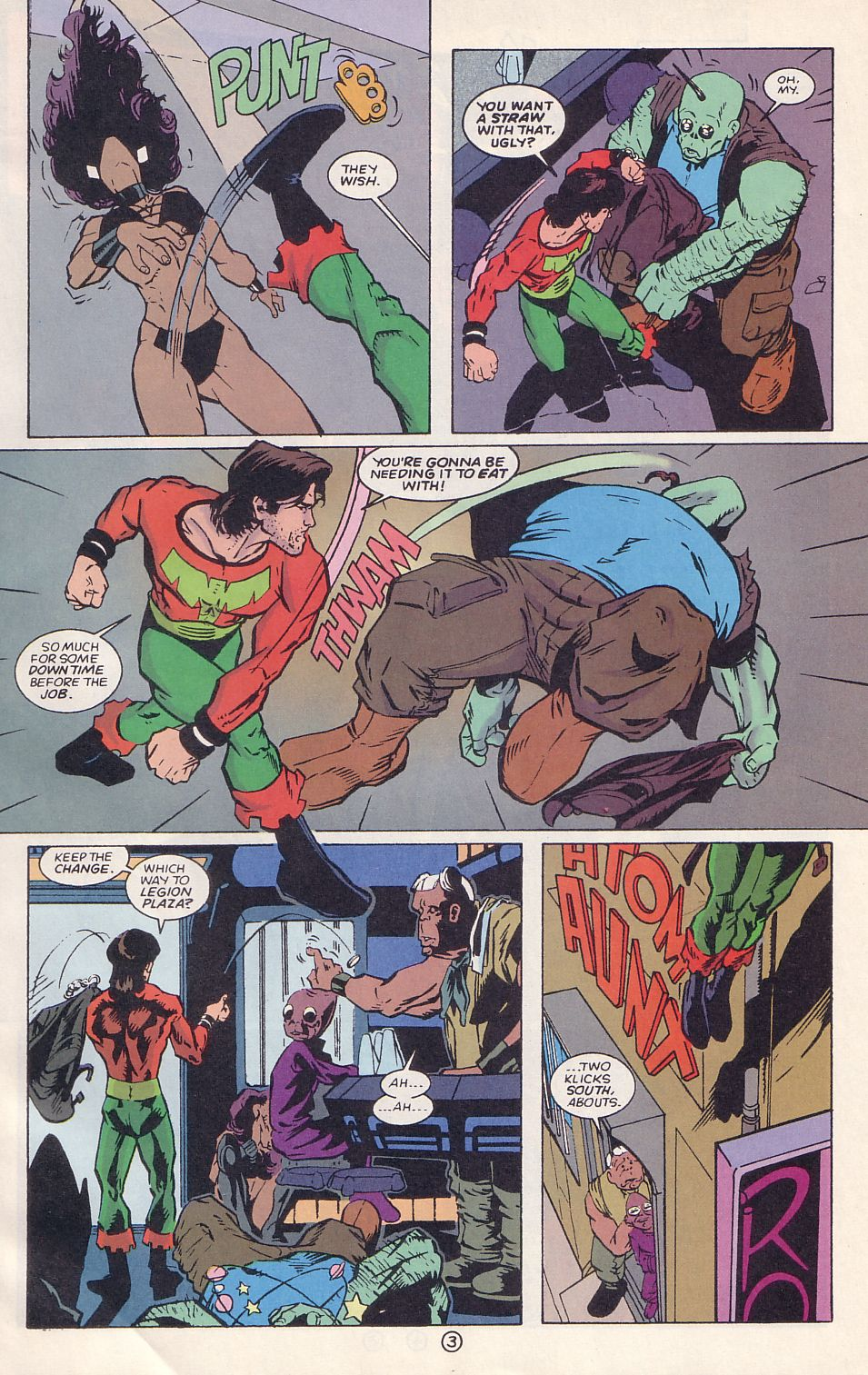 Legion of Super-Heroes (1989) 64 Page 3