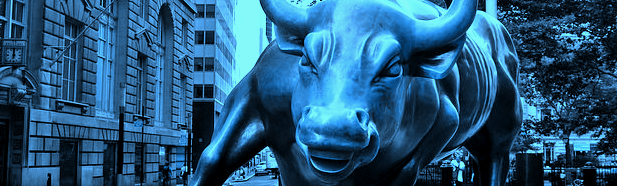 graphic of Charging Bull | DomainMondo.com