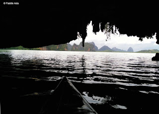 Sea cave kayaking Ao Phang Nga Bay