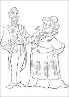 הנסיכה אלנה מאוולור לצביעה