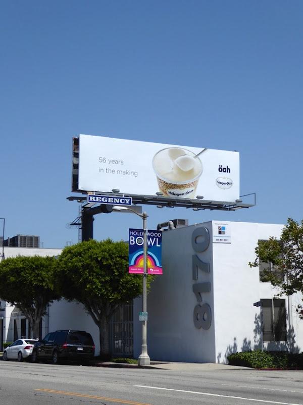 Haagen Dazs 56 years in the making aah billboard