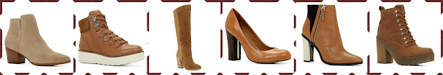 "[AW2015] Aldo Shoes ""Camel to Cognac"" collection."